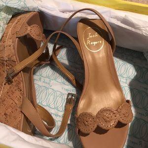 BRAND NEW Jack Rogers Keri Wedge Sandals
